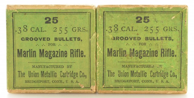 UMC 38 Cal. Bullets Marlin Magazine Rifle 2 Boxes Antique Ammo Reload