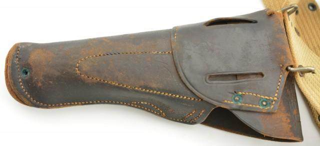 WW1 Era US Model 1912 Pistol Belt and Model 1916 Holster