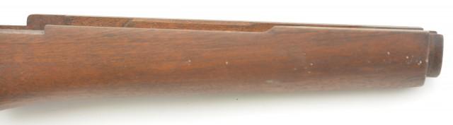 "Excellent Italian BM59 Rifle Stock Marked ""MT"" Walnut Gun Part"
