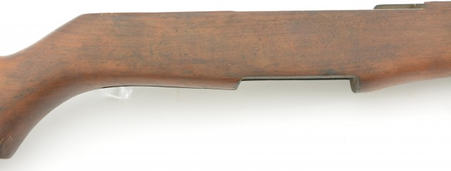 Unmarked M1 Garand Stock Complete Lower Wood W/PB Marked Parts Build