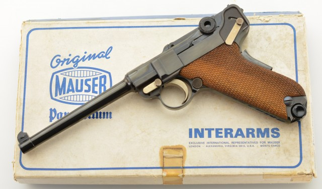 Mauser American Eagle Luger Pistol by Interarms