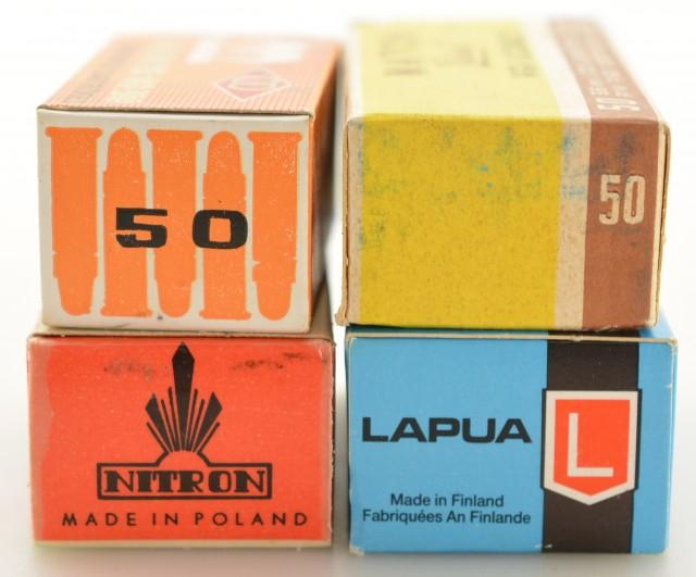 International 22 LR Collector Ammunition Boxes China Poland Russia Fi