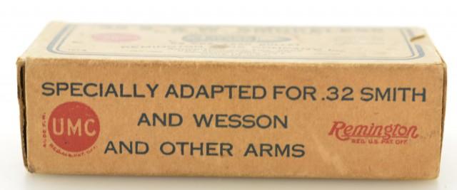 Early 1930's Remington Smokeless 32 S&W Ammo One Piece Box