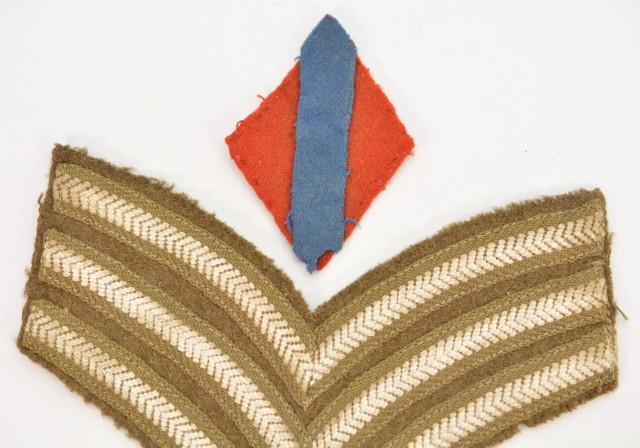 British Cloth Insignia 5 Pieces