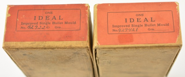 Vintage Ideal Mold Factory Boxes