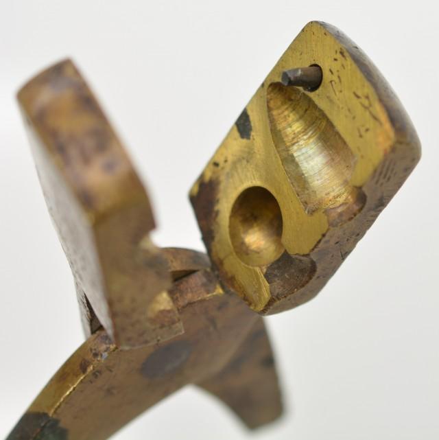 2 Vintage Bullet Molds