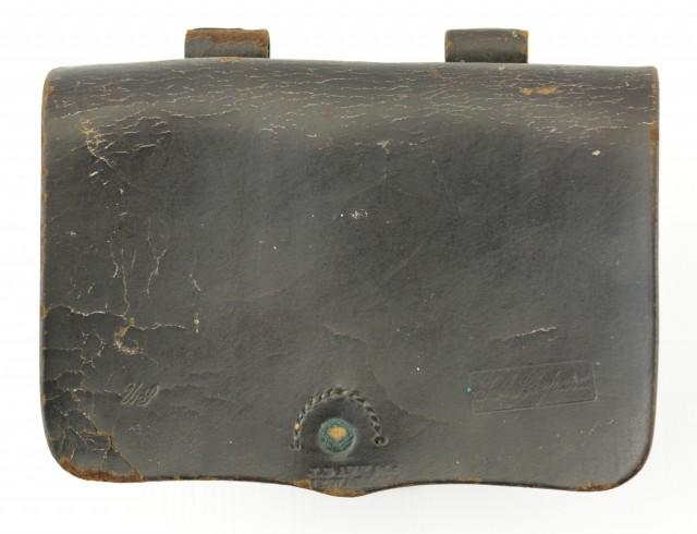Civil War U.S. Marked Cartridge Box