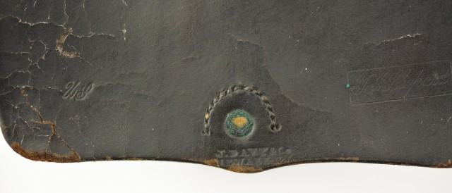 Civil War U.S. Marked Cartridge Box