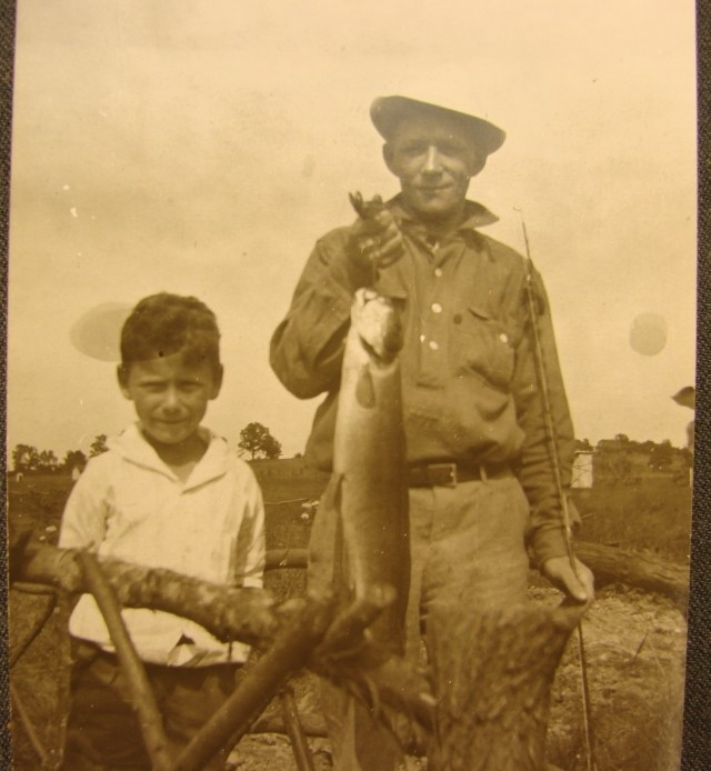 Group of 4 fishing photos