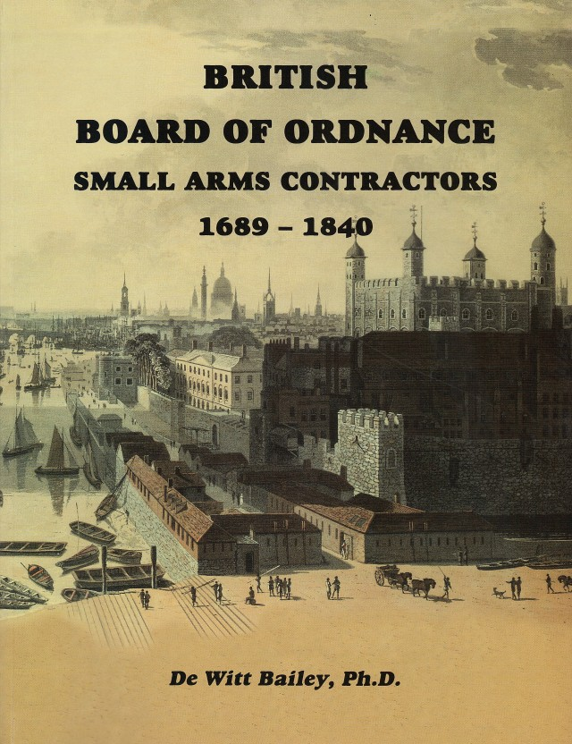 British Board of Ordnance Contractors 1689-1840