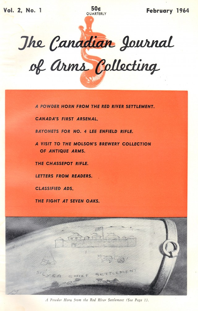 Canadian Journal of Arms Collecting - Vol. 2 No. 1 (Feb 1964)