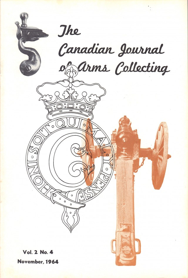 Canadian Journal of Arms Collecting - Vol. 2 No. 4 (Nov 1964)