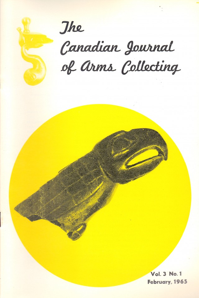 Canadian Journal of Arms Collecting - Vol. 3 No. 1 (Feb 1965)