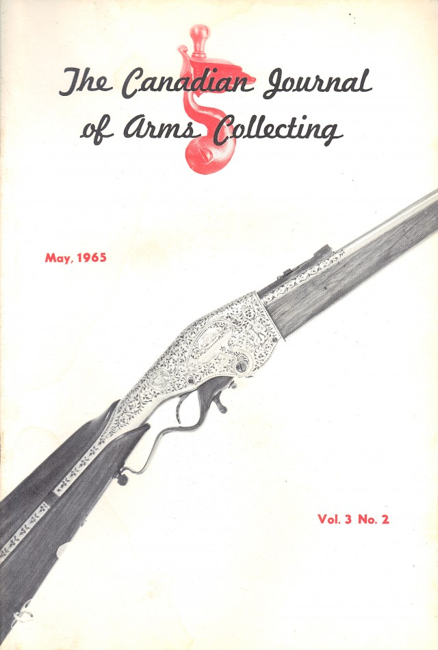 Canadian Journal of Arms Collecting - Vol. 3 No. 2 (May 1965)
