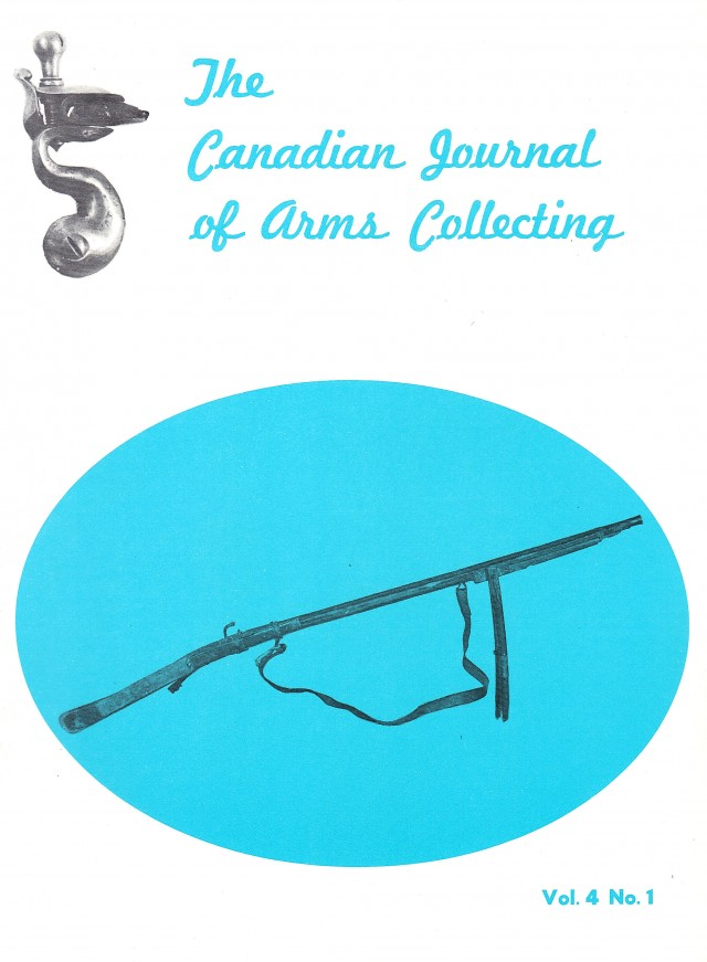 Canadian Journal of Arms Collecting - Vol. 4 No. 1 (Feb 1966)