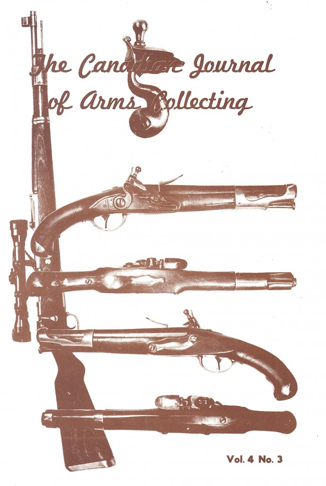 Canadian Journal of Arms Collecting - Vol. 4 No. 3 (Aug 1966)