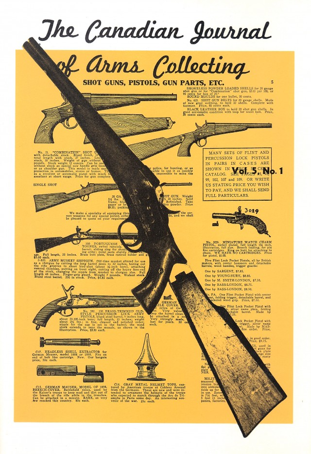 Canadian Journal of Arms Collecting - Vol. 5 No. 1 (Feb 1967)