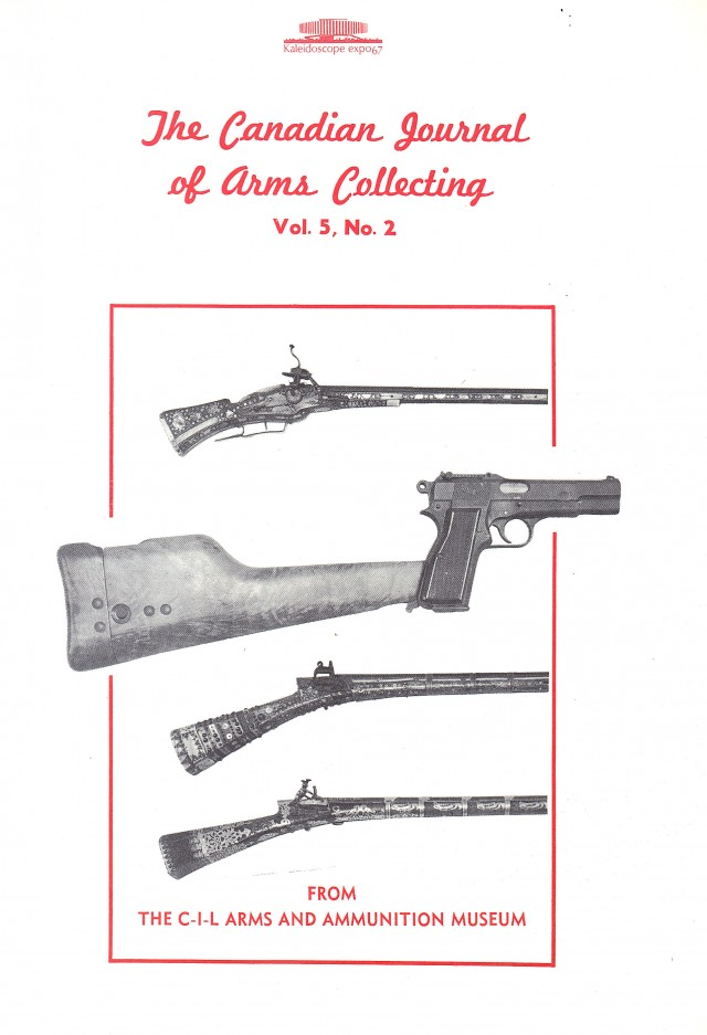 Canadian Journal of Arms Collecting - Vol. 5 No. 2 (May 1967)