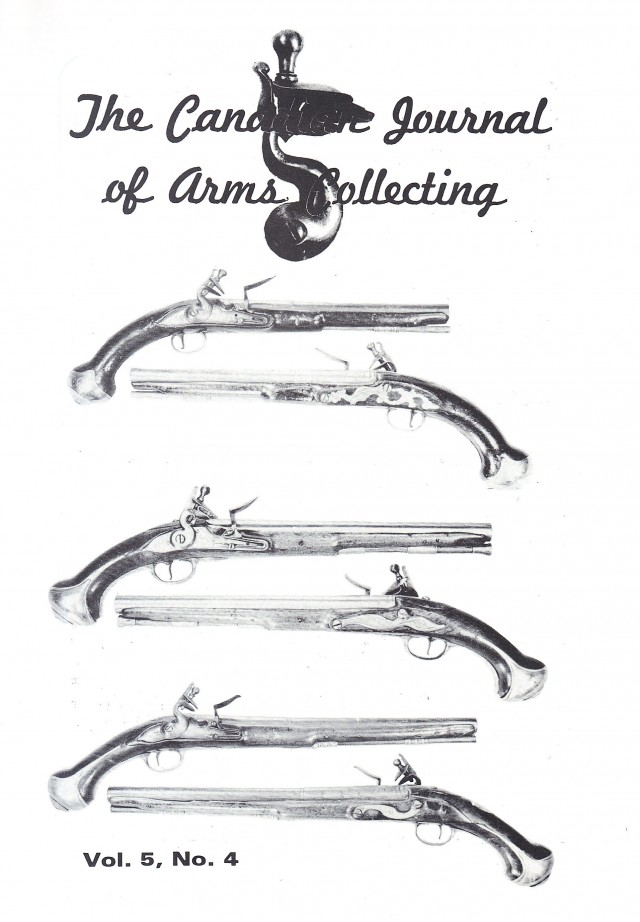 Canadian Journal of Arms Collecting - Vol. 5 No. 4 (Nov 1967)