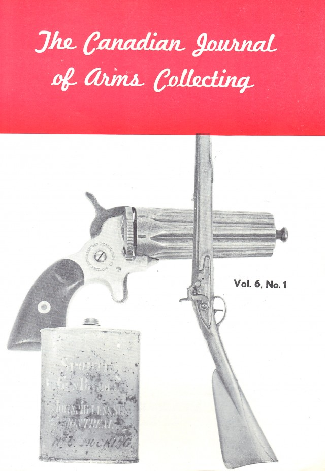 Canadian Journal of Arms Collecting - Vol. 6 No. 1 (Feb 1968)