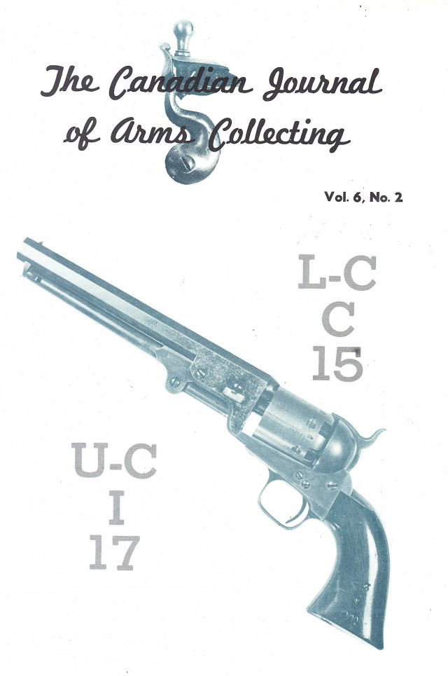 Canadian Journal of Arms Collecting - Vol. 6 No. 2 (May 1968)