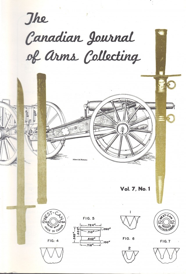 Canadian Journal of Arms Collecting - Vol. 7 No. 1 (Feb 1969)