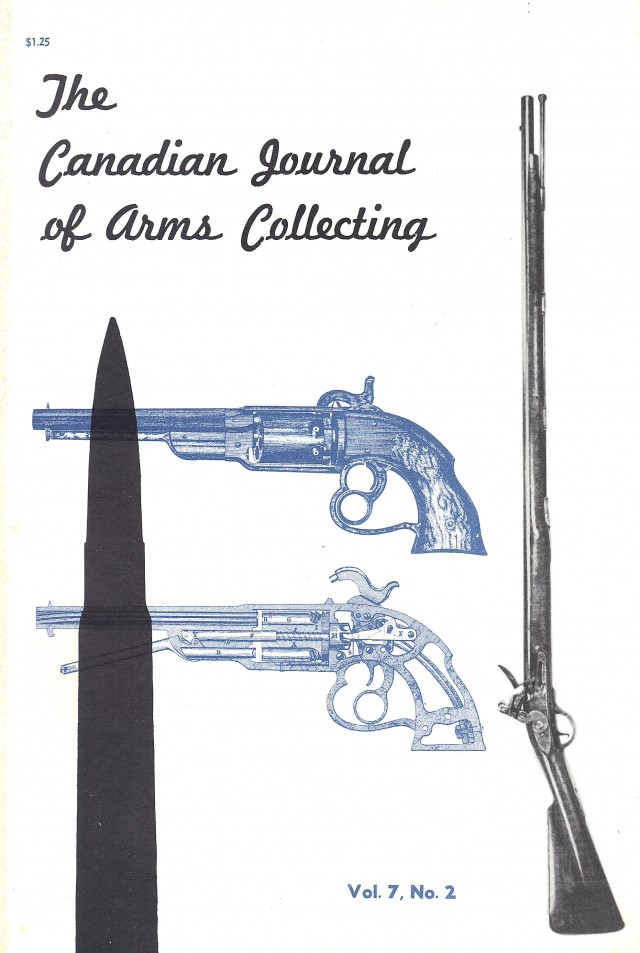 Canadian Journal of Arms Collecting - Vol. 7 No. 2 (May 1969)