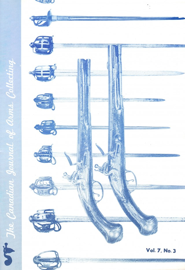 Canadian Journal of Arms Collecting - Vol. 7 No. 3 (Aug 1969)