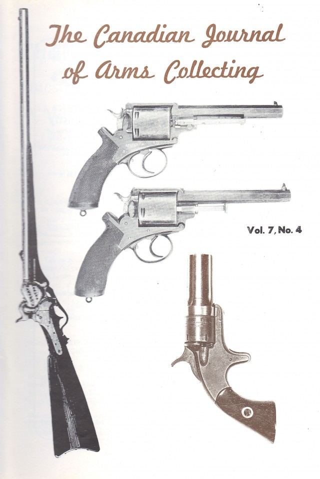 Canadian Journal of Arms Collecting - Vol. 7 No. 4 (Nov 1969)
