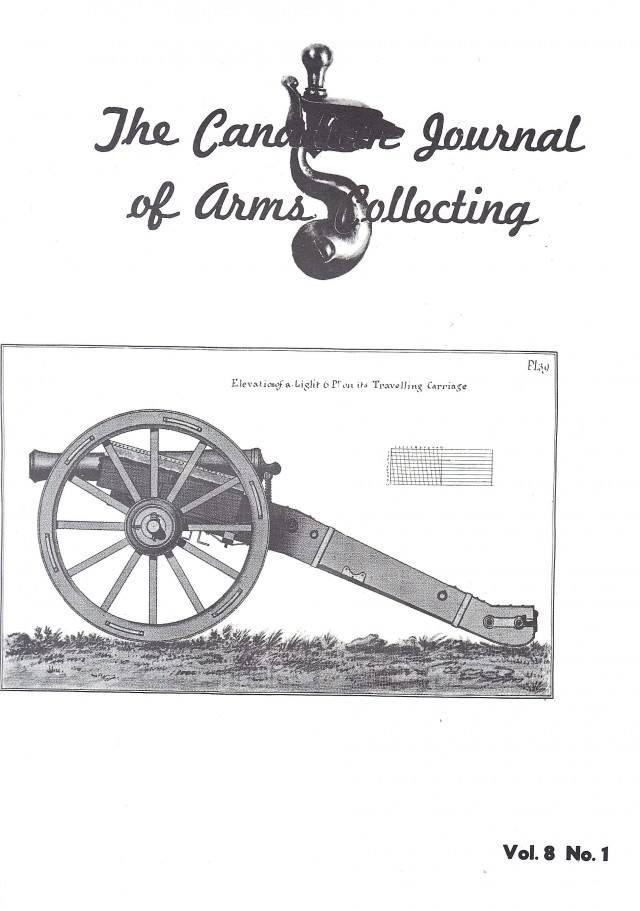 Canadian Journal of Arms Collecting - Vol. 8 No. 1 (Feb 1970)