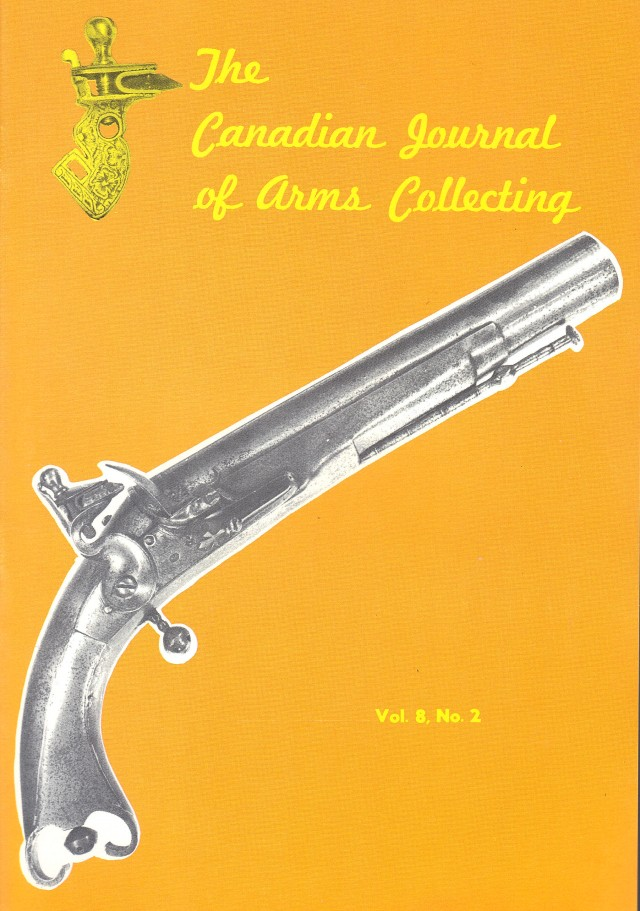 Canadian Journal of Arms Collecting - Vol. 8 No. 2 (May 1970)