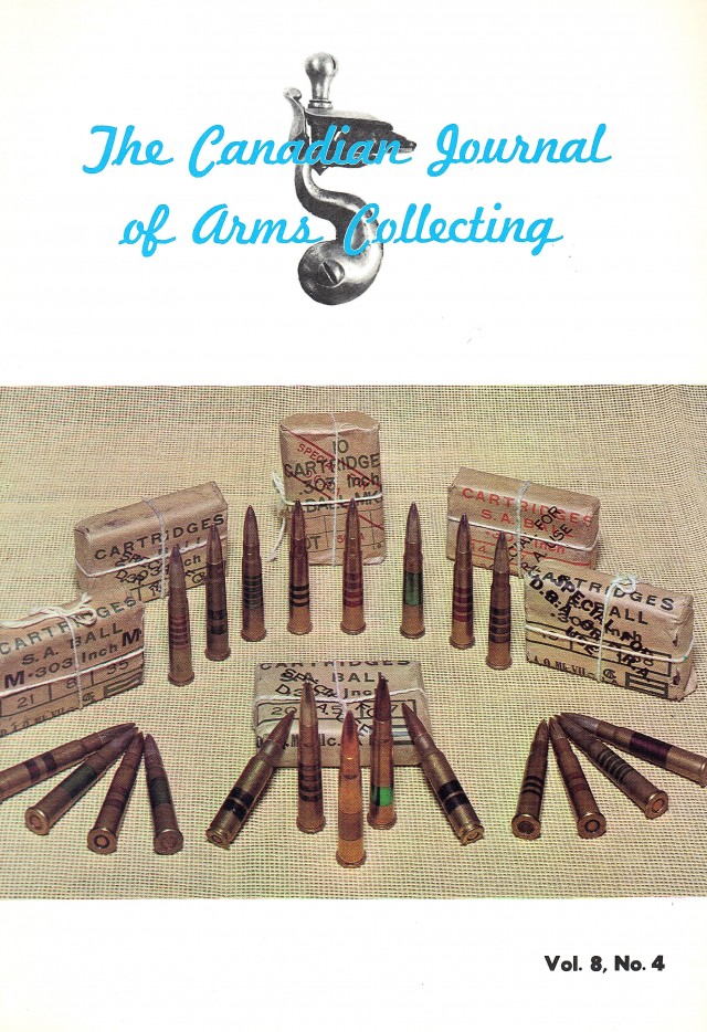 Canadian Journal of Arms Collecting - Vol. 8 No. 4 (Feb 1969)