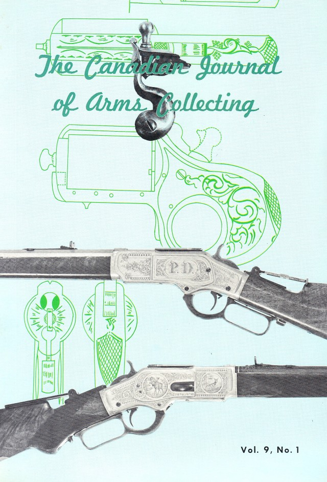 Canadian Journal of Arms Collecting - Vol. 9 No. 1 (Feb 1971)