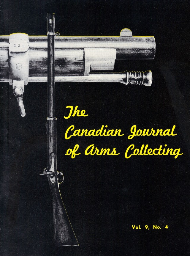 Canadian Journal of Arms Collecting - Vol. 9 No. 4 (Nov 1971)