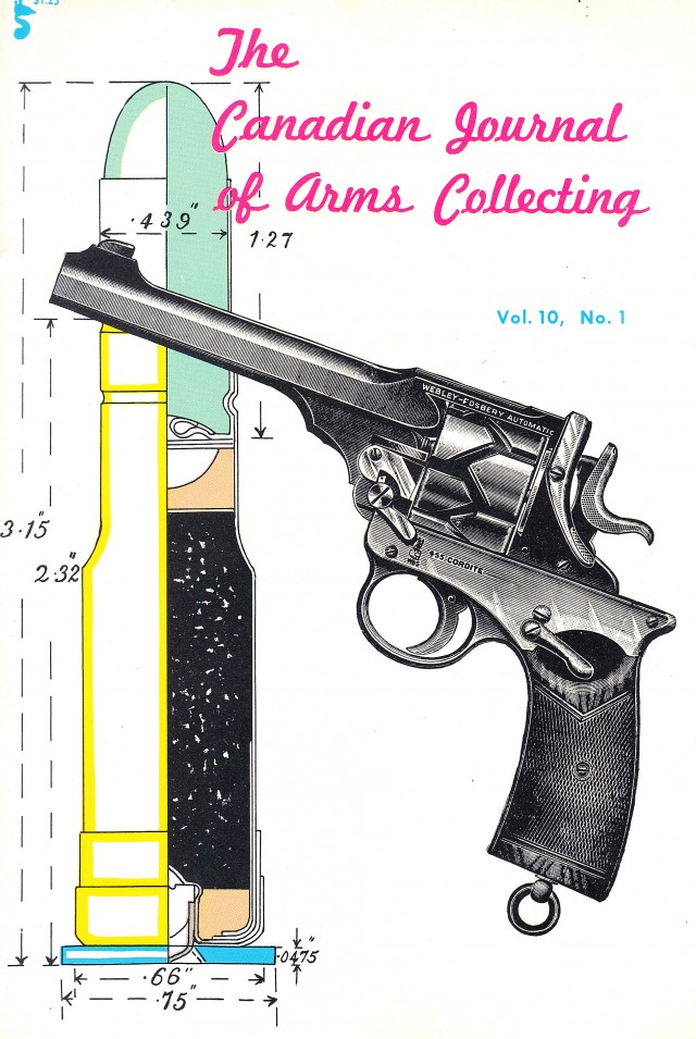 Canadian Journal of Arms Collecting - Vol. 10 No. 1 (Feb 1972)