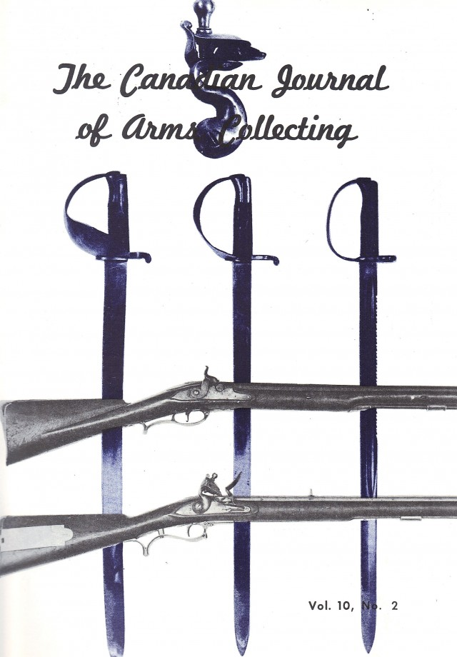 Canadian Journal of Arms Collecting - Vol. 10 No. 2 (May 1972)
