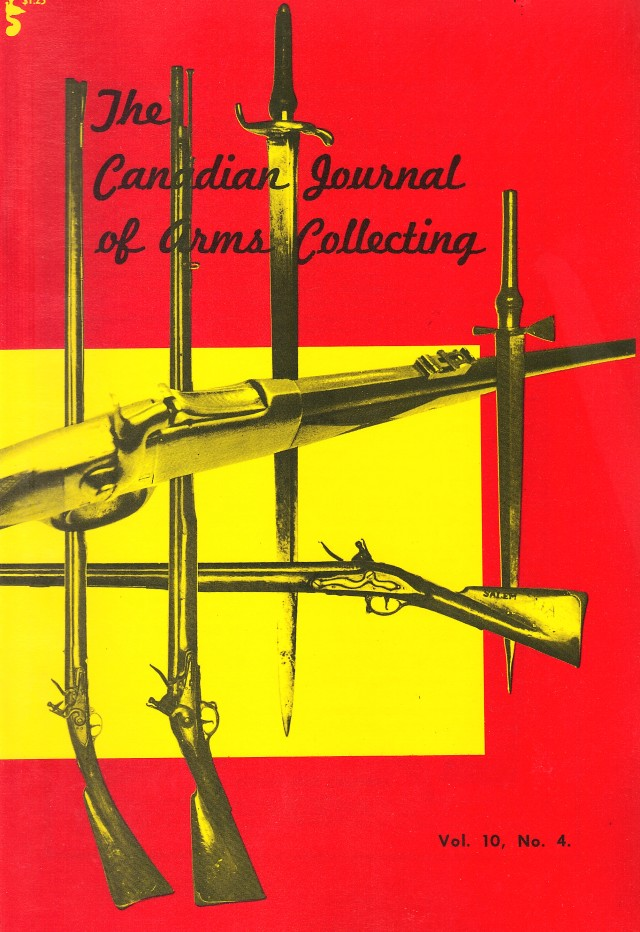 Canadian Journal of Arms Collecting - Vol. 10 No. 4 (Nov 1972)