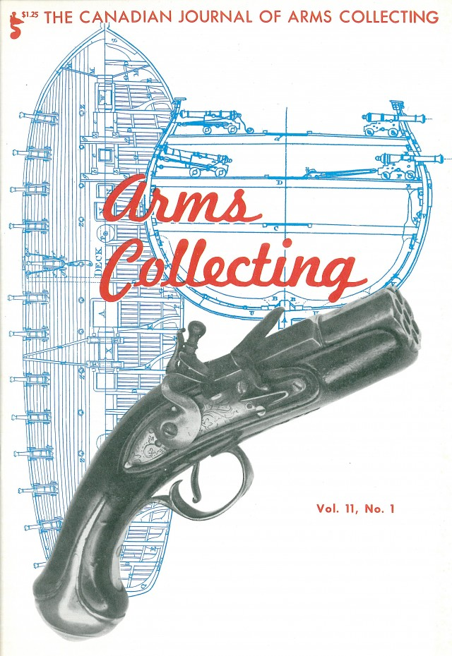 Canadian Journal of Arms Collecting - Vol. 11 No. 1 (Feb 1973)