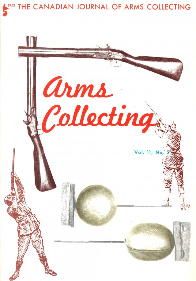 Canadian Journal of Arms Collecting - Vol. 11 No. 2 (May 1973)