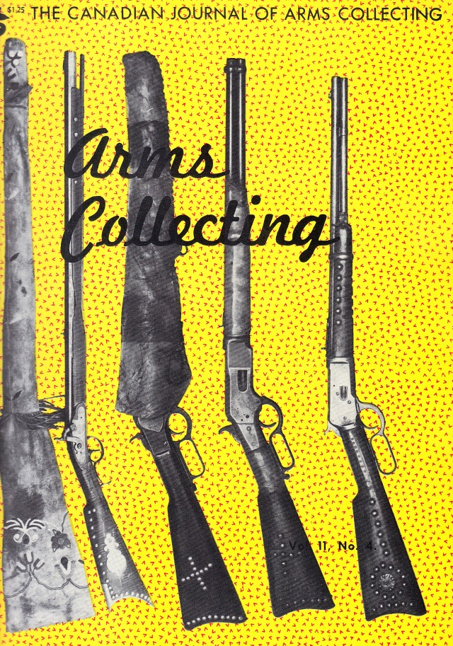 Canadian Journal of Arms Collecting - Vol. 11 No. 4 (Nov 1973)