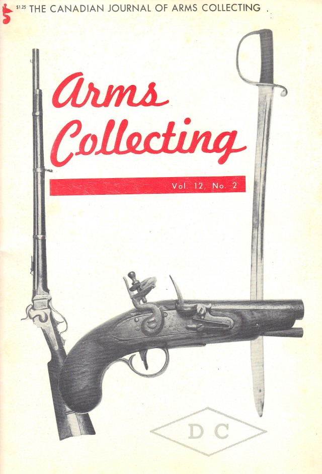 Canadian Journal of Arms Collecting - Vol. 12 No. 2 (May 1974)