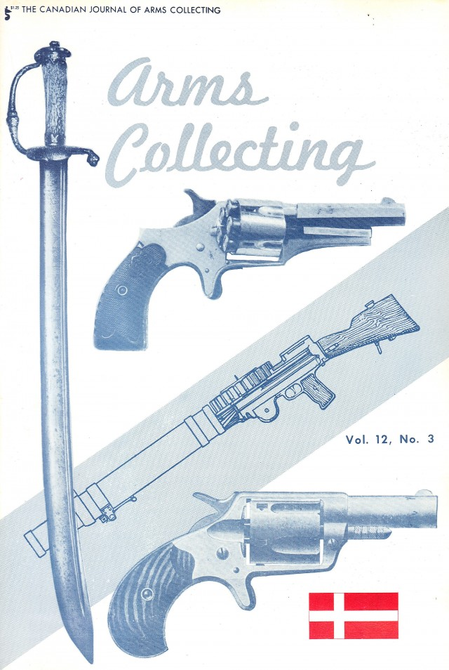 Canadian Journal of Arms Collecting - Vol. 12 No. 3 (Aug 1974)