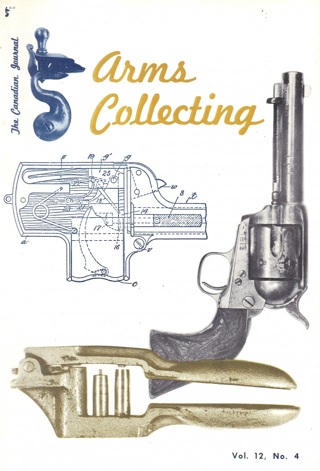 Canadian Journal of Arms Collecting - Vol. 12 No. 4 (Nov 1974)