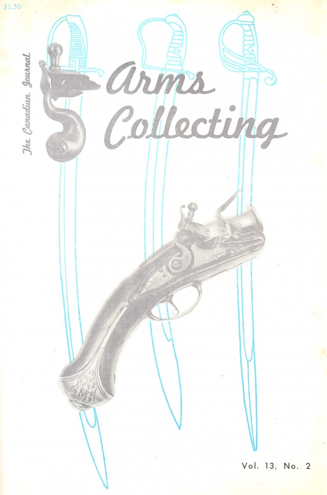 Canadian Journal of Arms Collecting - Vol. 13 No. 2 (May 1975)