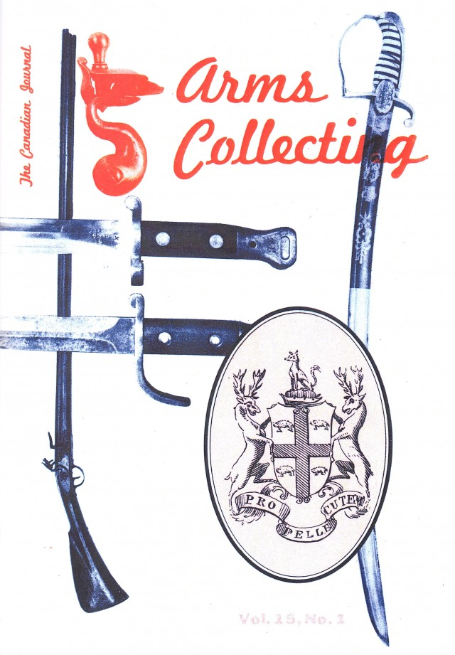 Canadian Journal of Arms Collecting - Vol. 15 No. 1 (Feb 1977)