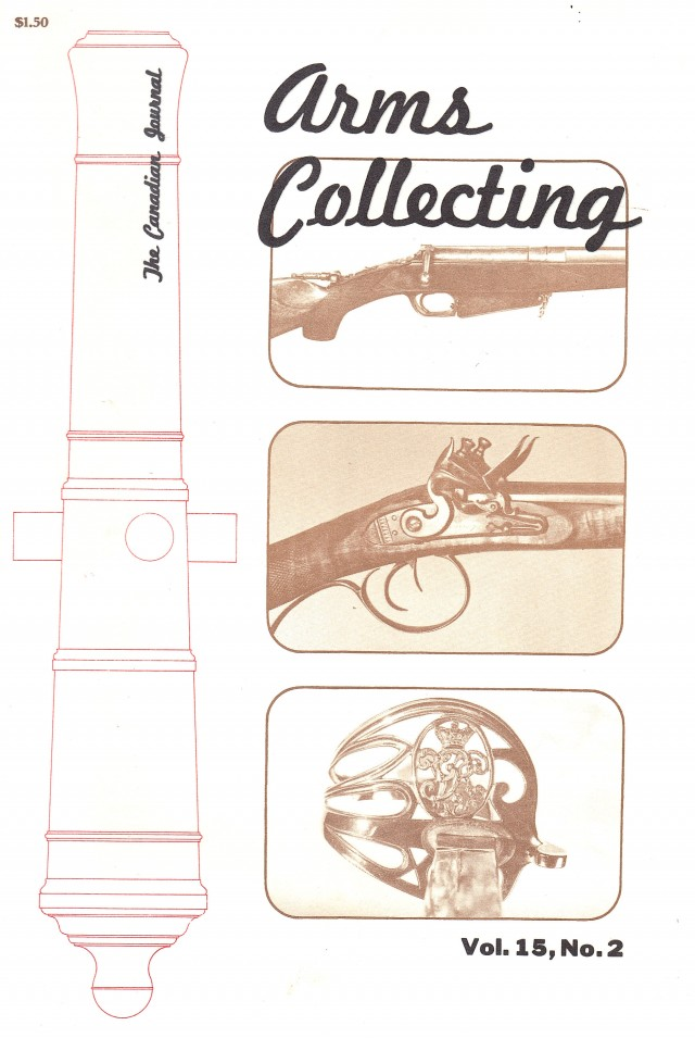 Canadian Journal of Arms Collecting - Vol. 15 No. 2 (May 1977)