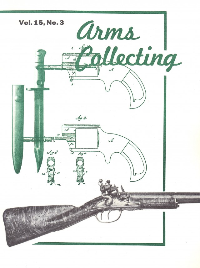Canadian Journal of Arms Collecting - Vol. 15 No. 3 (Aug 1977)