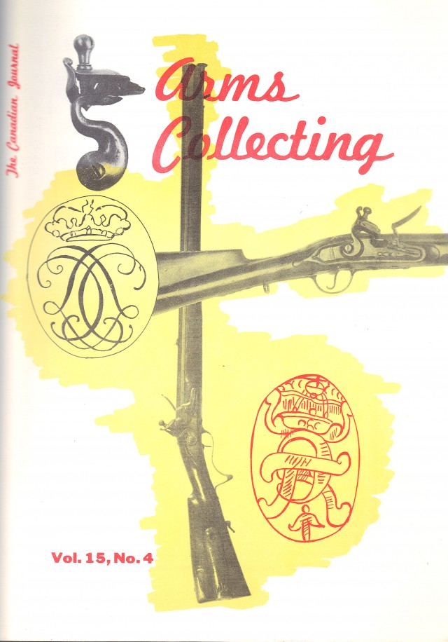 Canadian Journal of Arms Collecting - Vol. 15 No. 4 (Nov 1977)