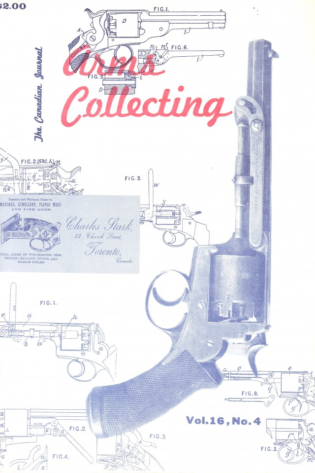 Canadian Journal of Arms Collecting - Vol. 16 No. 4 (Nov 1978)