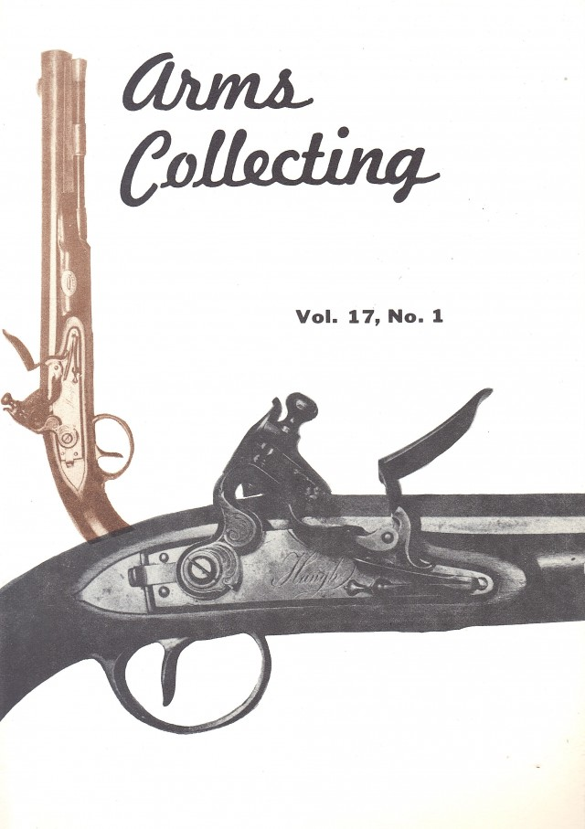 Canadian Journal of Arms Collecting - Vol. 17 No. 1 (Feb 1979)